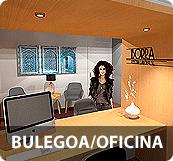 Desarrollamos una pequeña reforma de la oficina de Iborra Asesoría Laboral SL para modernizar la estética con muy bajo presupuesto.