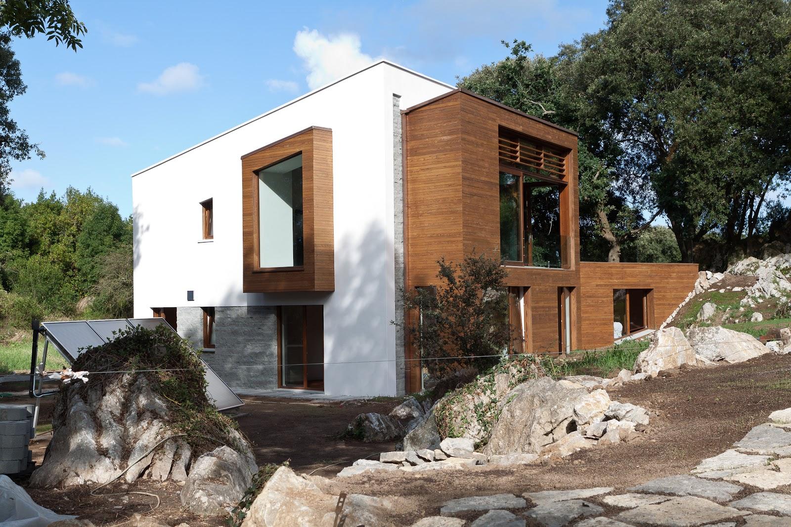 Passivhaus en Asturias: Casa Entre Encinas