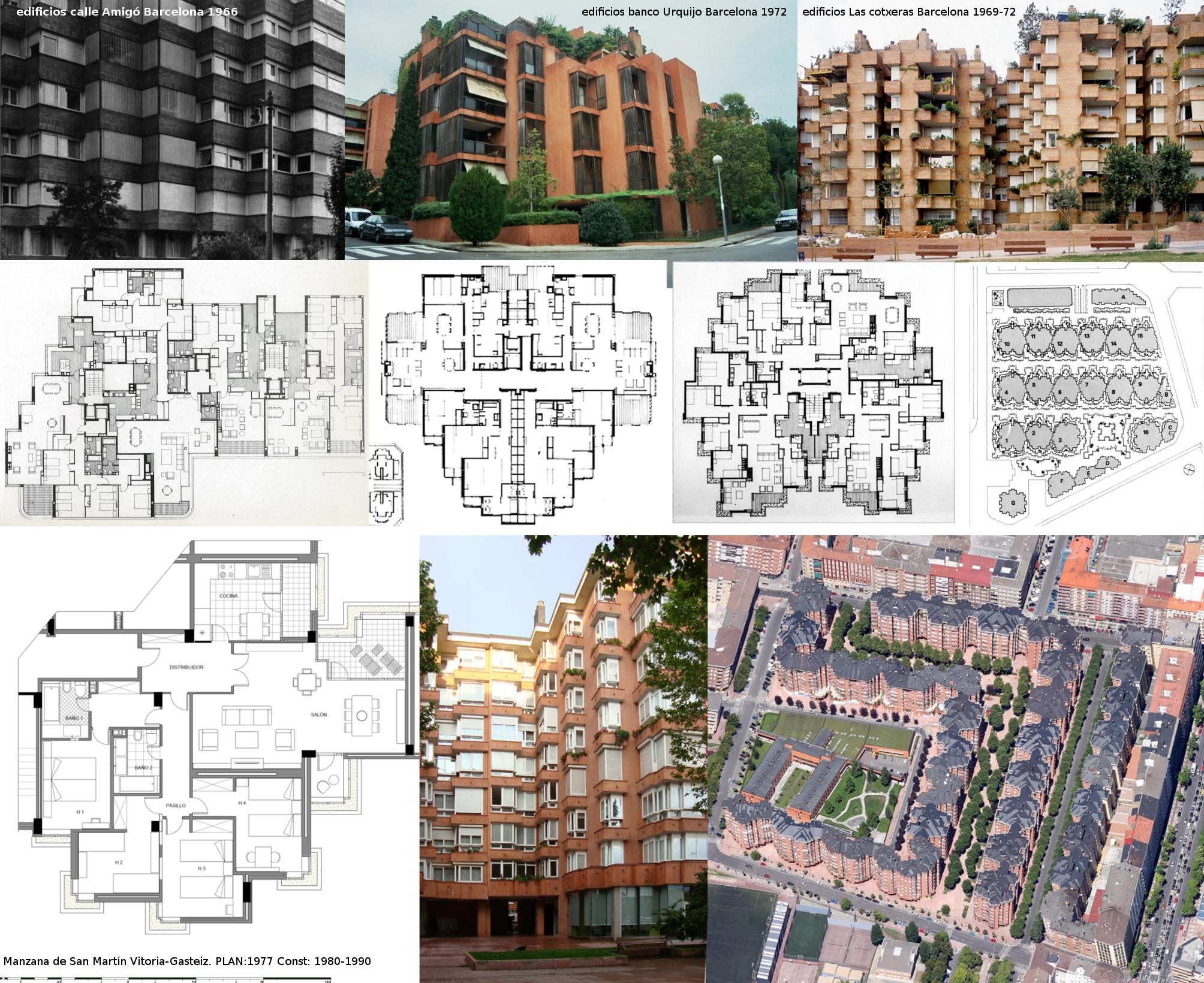 Herencia de Coderch: viviendas de Ajuria