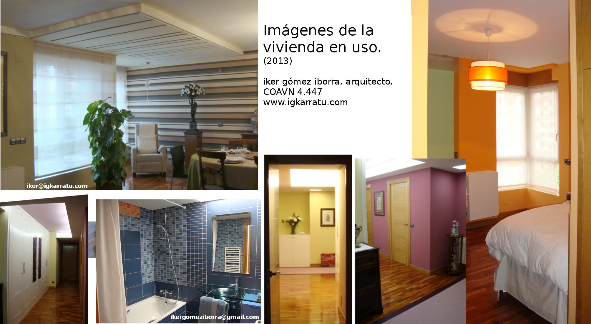 Reforma de vivienda en Vitoria-Gasteiz, imágenes