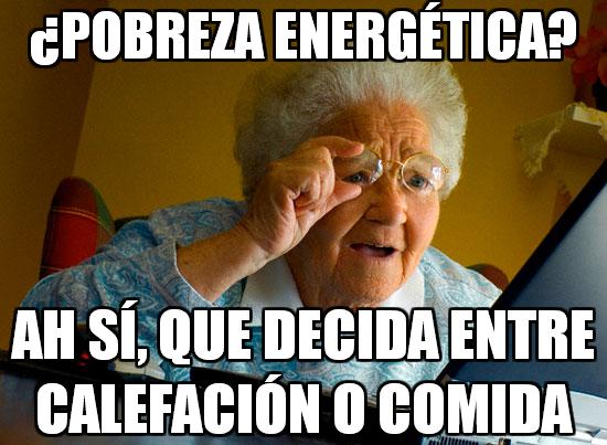 pobreza energética y mi abuela