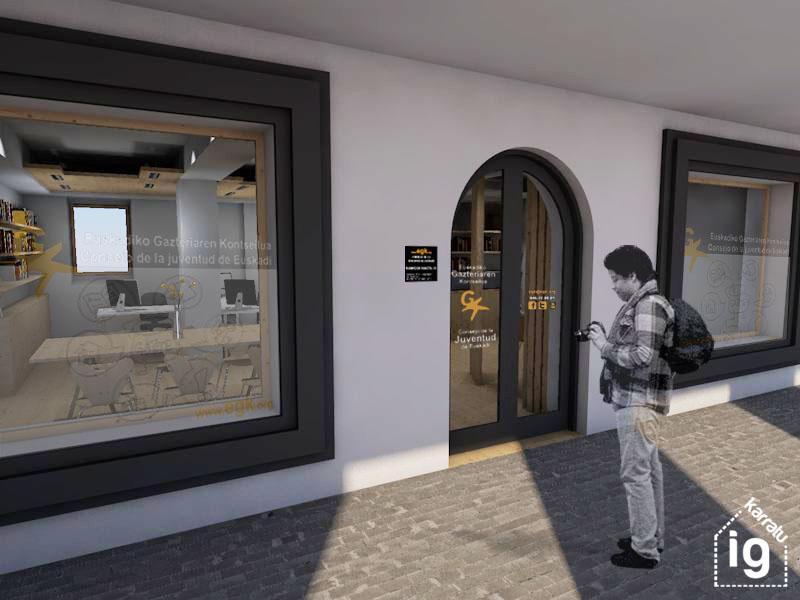 Reforma y mejora de la oficina y local de EGK: 20150420-EGK-Exterior-2