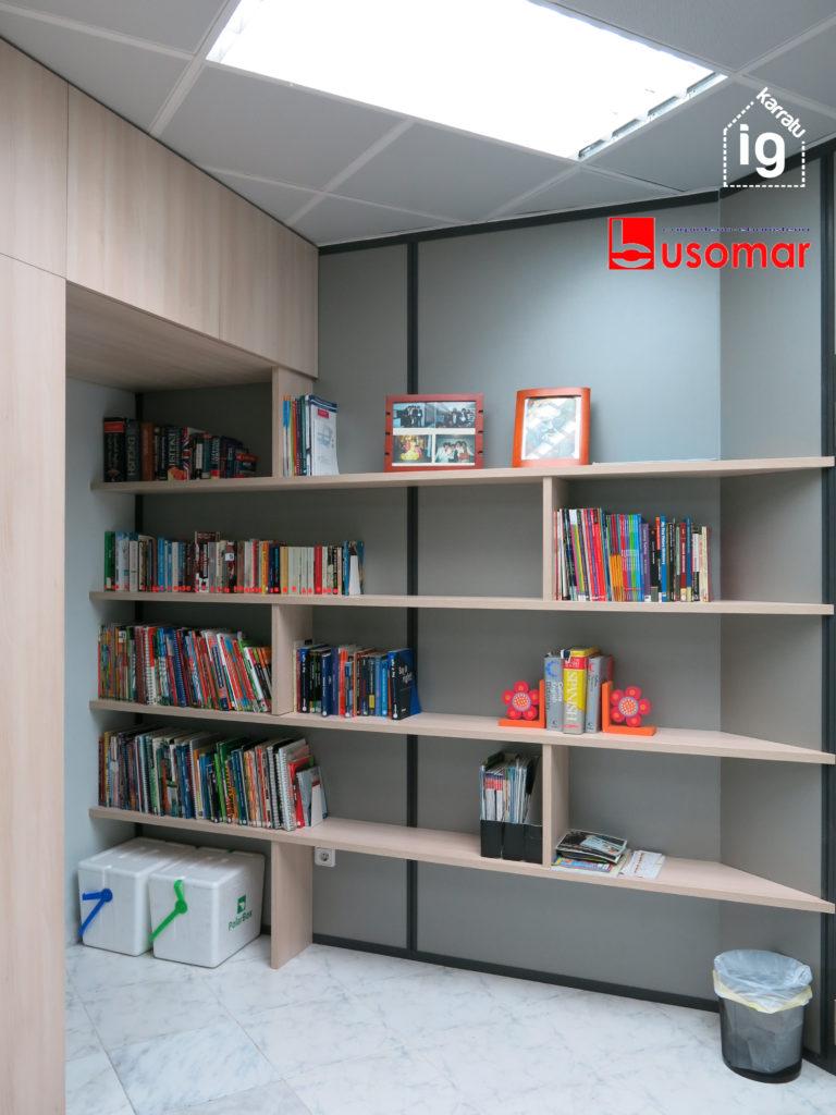 mueble de diseño en Vitoria : librería