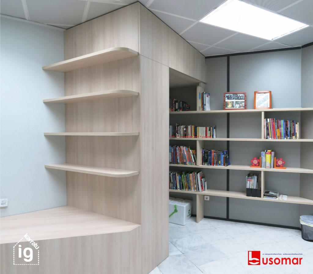 mueble de diseño en Vitoria : librería2