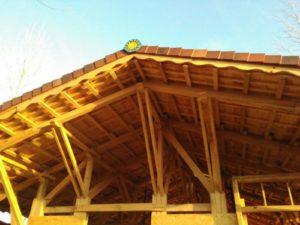 El roble es una alternativa durable para una casa pasiva en bioconstrucción