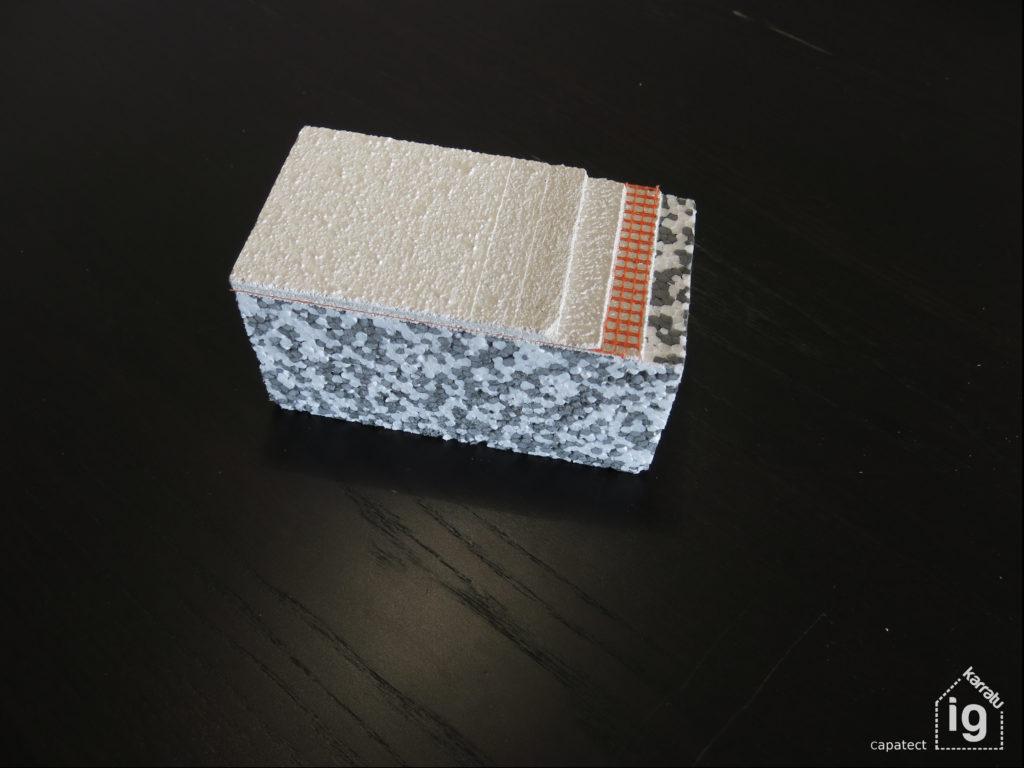 SATE Capatect EPS gris (mezcla EPS Blanco + EPS NEOPOR)