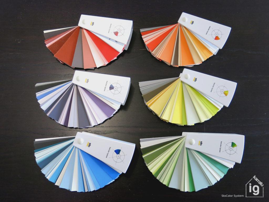 Carta de colores para SATE de StoColor system