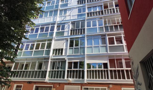 Una reforma de fachada en Vitoria - Gasteiz
