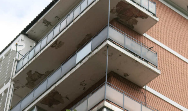 Reforma de fachada en Vitoria - Gasteiz